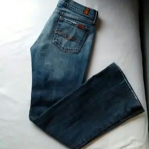7 for all mankind size 26. blue jeans